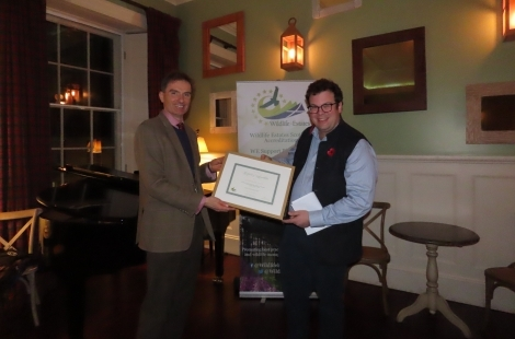 European conservation accreditation awarded to Dumfries & Galloway estate